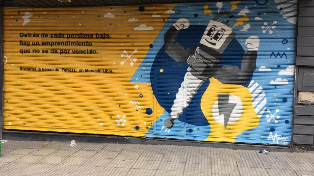 murales con pintura fotocatalítica, pintura que absorbe co2 murales urbanos persianas