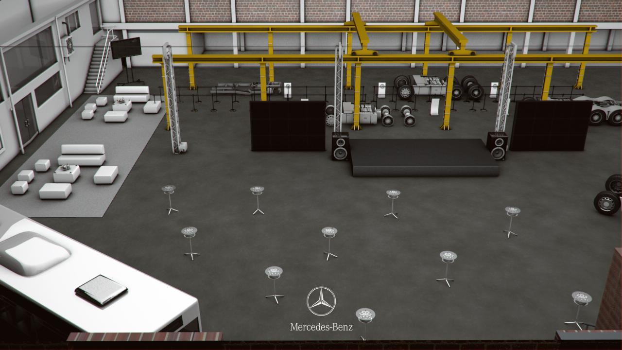 Mercedes-Benz-Lanzamiento-de-planta-Slim-Brands-eventos-BTL