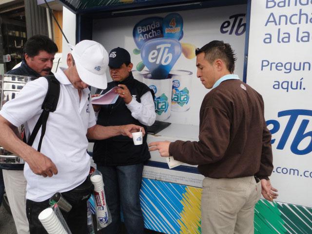 etb activacion btl agencia btl slim brands