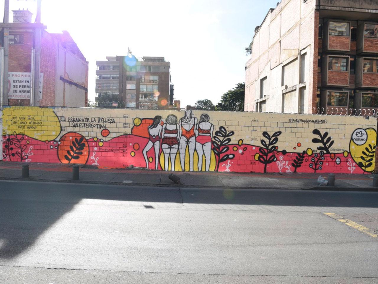 publicidad-BTL-slim-brands---natura-sustentable--mural-fotocatalitico-calle-85-con-7ma