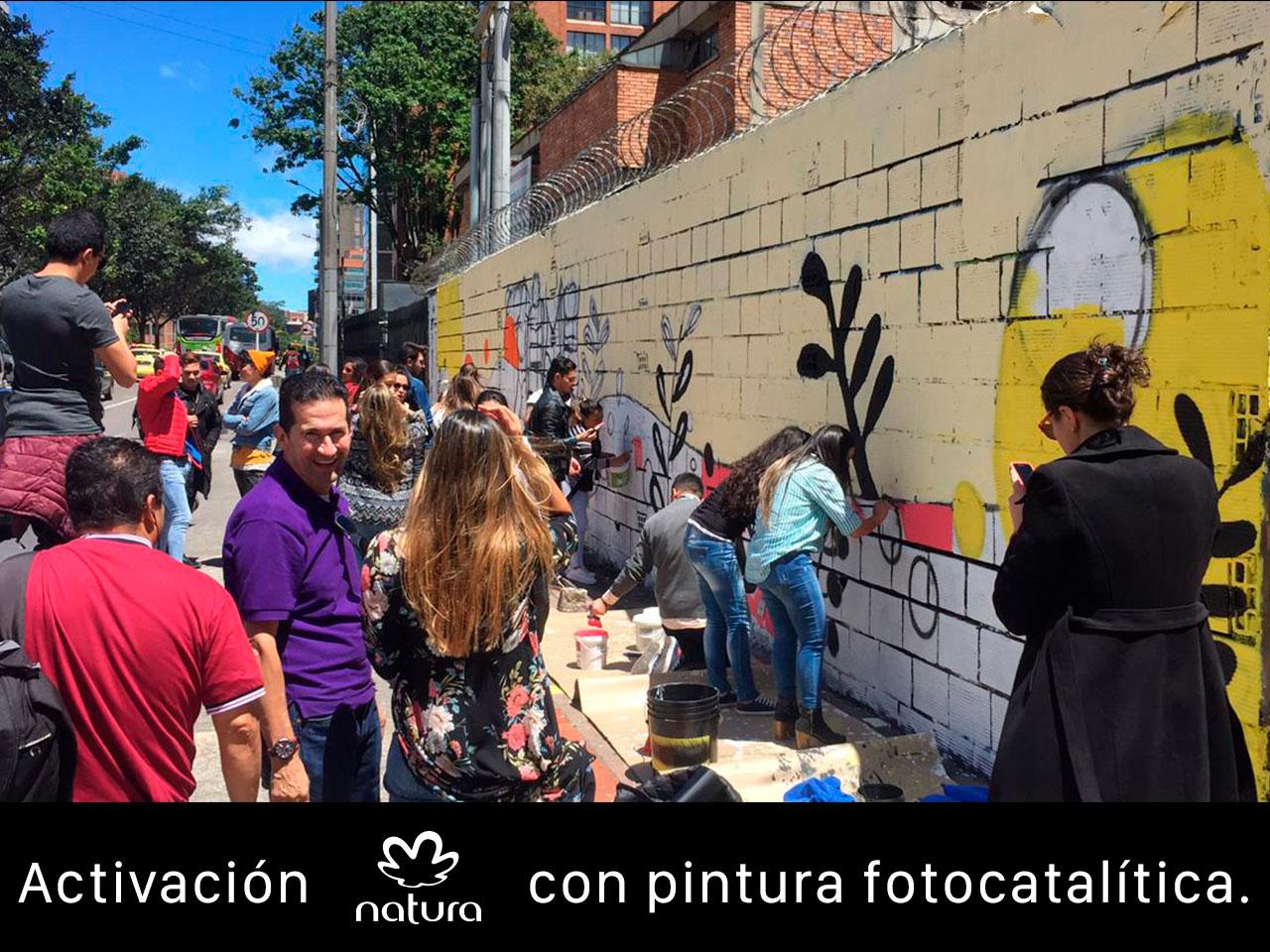 publicidad-BTL-slim-brands---natura-sustentable--mural-fotocatalitico-calle-85-con-7ma_1